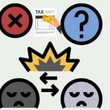 高額納税者を批判する謎